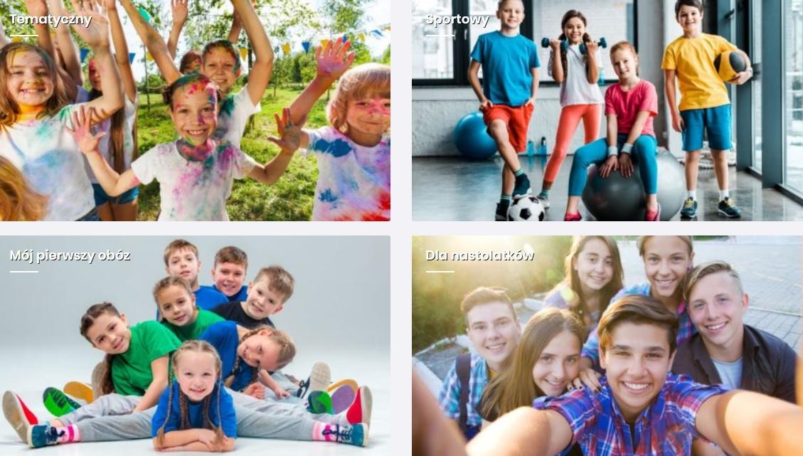 obozy dla dzieci i młodzieży 2020