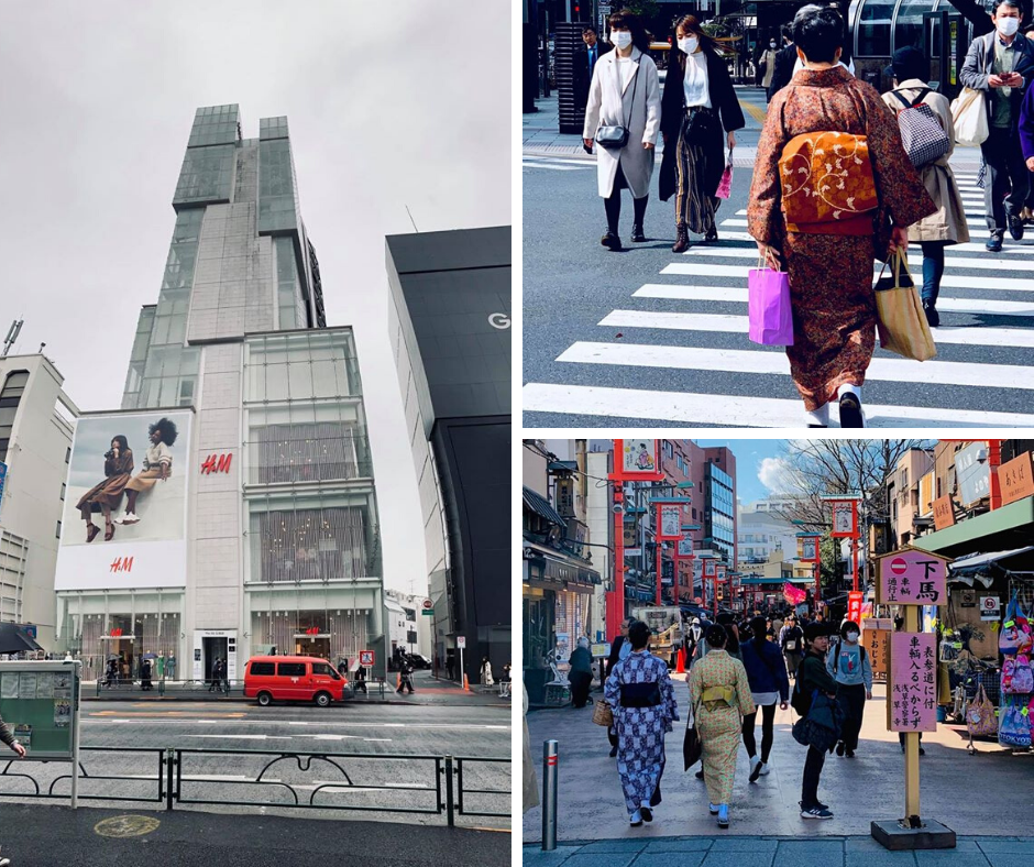 moda i styl w tokyo