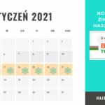 Terminy ferii zimowych ferie 2021