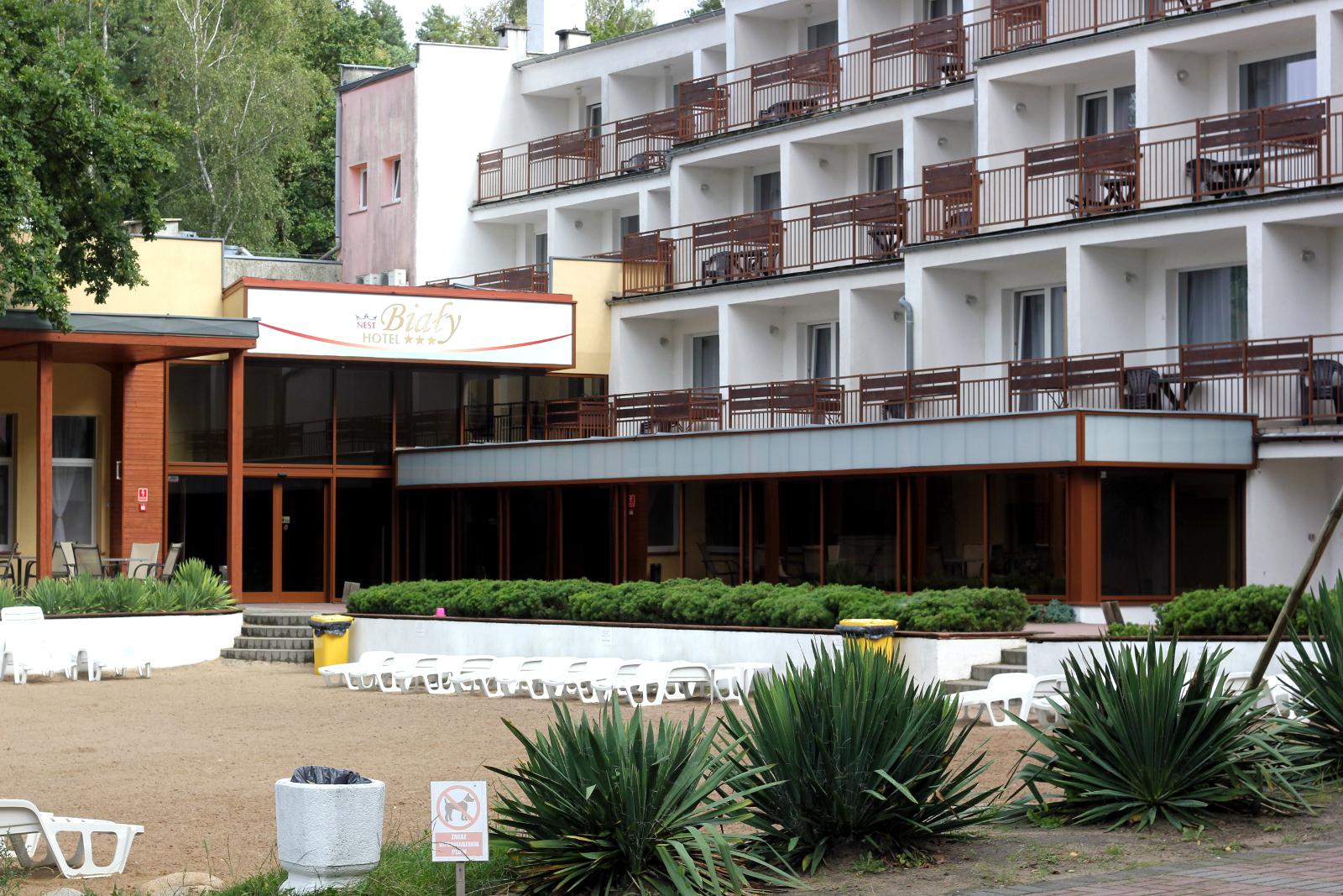 hotel biały skorzecin